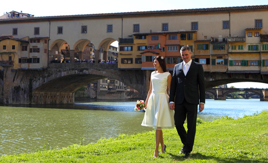 Italian Wedding Photographer Florence Ponte Vecchio