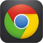 Logo app Google Chrome iOS