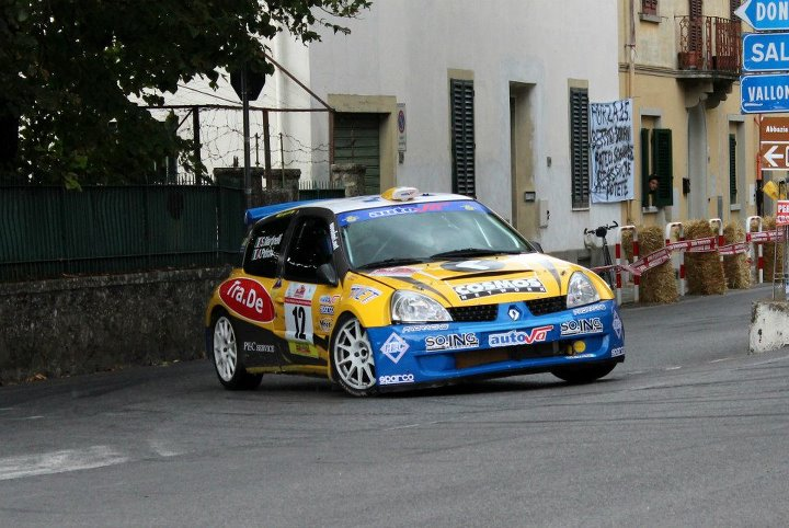Alessandro al Rally di Reggello 2012
