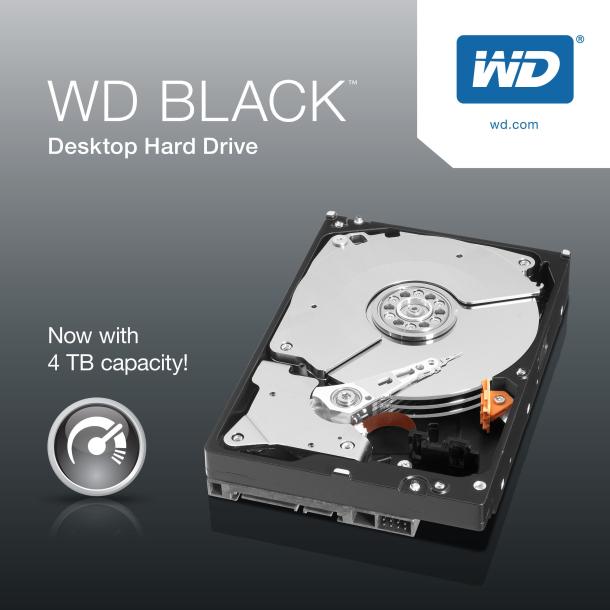 WD serie black da 4TB