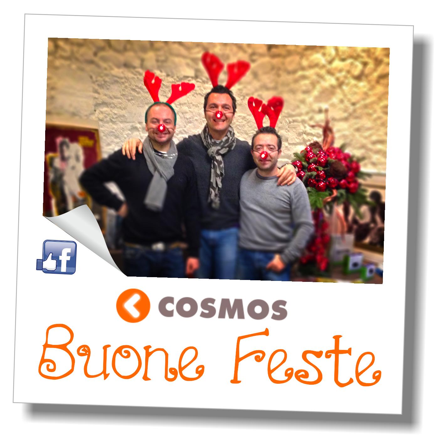Auguri di buone feste da Cosmos Network