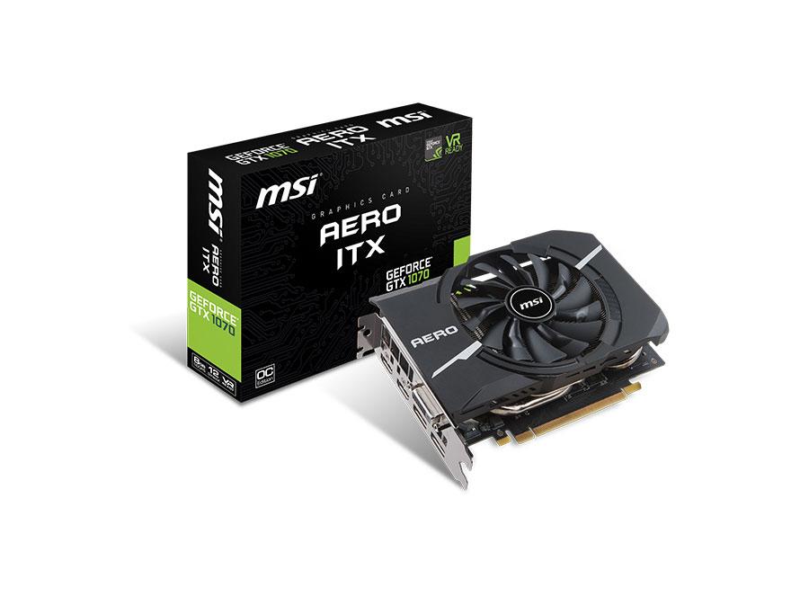 GeForce GTX 10 serie aero itx
