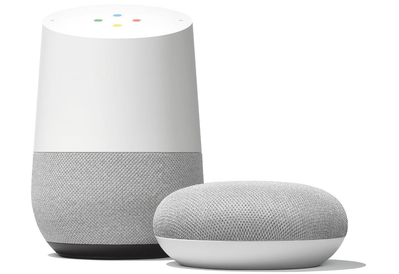 Assistenti vocali Google Home
